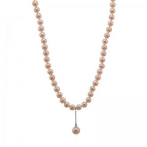 Colier cu perle sferice...