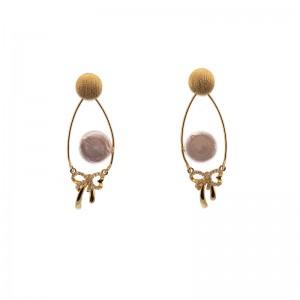 Cercei decorativi cu perla...
