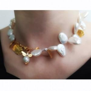 Colier cu mix de perle...
