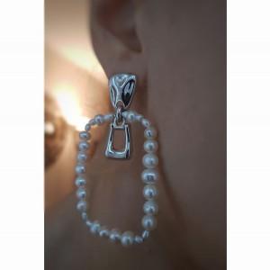 Oferta-Cercei cu perle de...