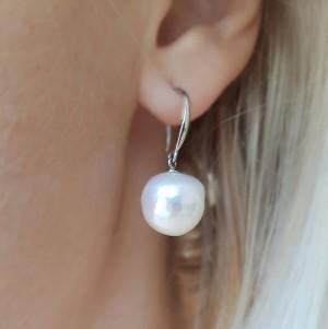 Cercei cu perle...