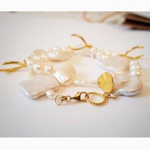 Colier artizanal cu perle...