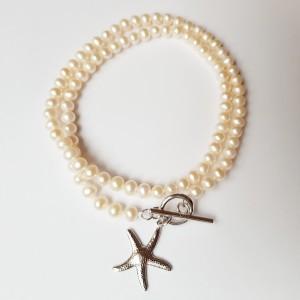 Colier cu perle de 4-5 mm...