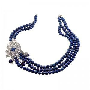 Colier spectaculos cu perle...