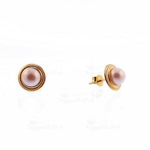 Cercei clasici cu perla...